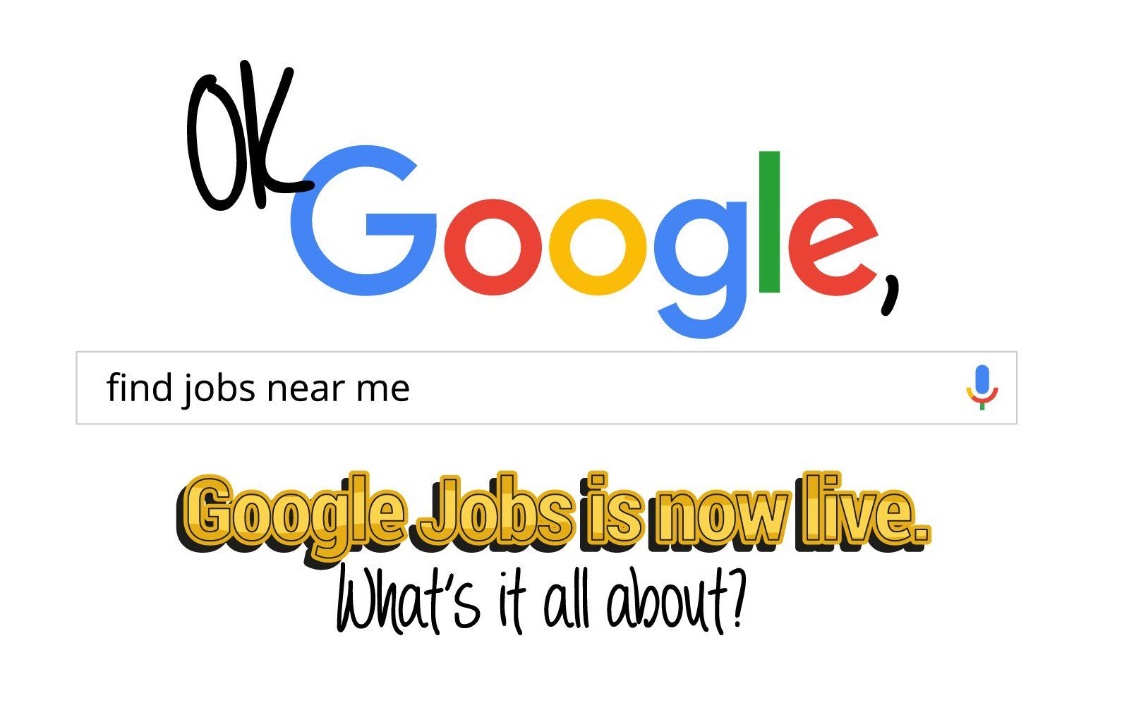 Google Jobs - Header