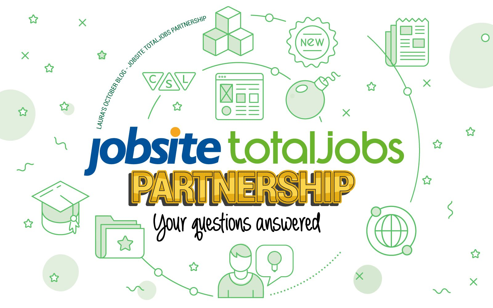 Candidate Source Blog - Jobsite Totaljobs Partnership your questions answered